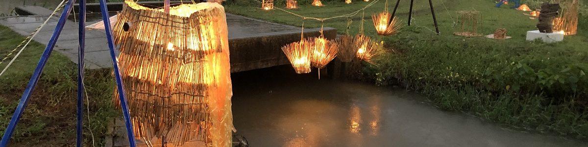 第14回 西の湖ヨシ灯り展 近江八幡市長賞受賞